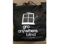 Gro Anywhere, Blackout blind.