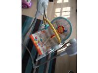 Fisher-Price 3-in-1 Swing-N-Rocker Baby Swing Chair