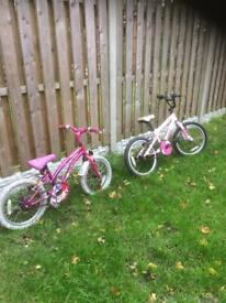Girls pink bikes for sale