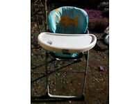Chico high Chair - DELIVERY AVAILABLE