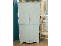 Lovely shabby chic french style display cabinet