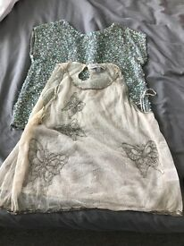 Only worn once size 6 limited addiction topshop tops beaded