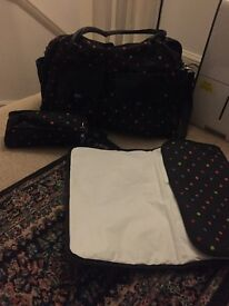 Next baby bag plus changer and feeder warmer cover
