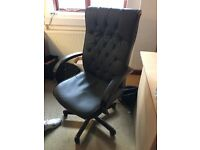 Teknik office chair in brown rrp150- brand new in box