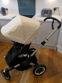 Bugaboo Buffalo Black and Cream with Accessories