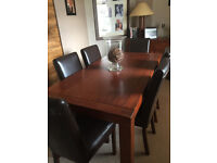 contemporay dining suite and sideboard