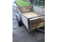 7x4half car trailer for sale