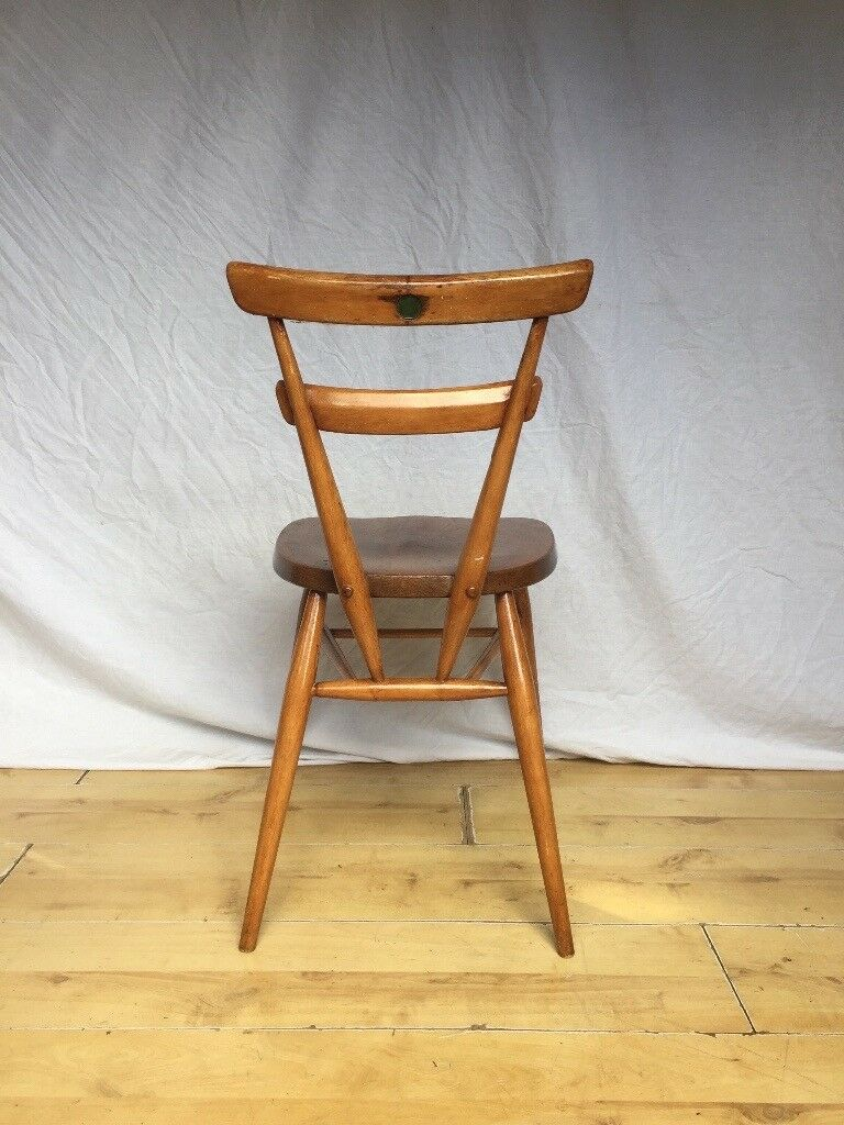 Vintage Ercol Stacking adult green dot desk dining chair | in Norwood,  London | Gumtree