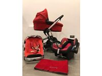 RED QUINNY BUZZ TRAVEL SYSTEM PERFECT CONDITION