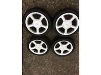 Ford Fiesta / Escort Cosworth Style 16'inch Alloy Wheels