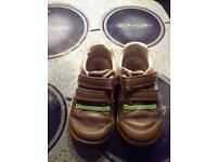 Boys Clarks shoes size 8G