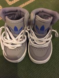 Baby adidas size 4 infant