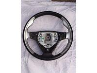 Saab 9-5 Aero 2003-2005 steering wheel