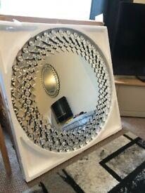 Julien MacDonald Mirror NEW BOXED RRP £295 Designer Large Wall Mirror Round Mirror