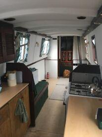 Harriet - 35' Cruiser Style Narrowboat 1975