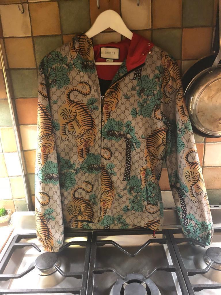 e8a9d0b6a80 GUCCI Bengal tiger print jacket