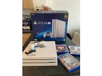 PS4 PRO 1TB (USED UNDER 10 TIMES)