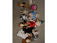 Soft toys/teddies assortment