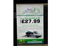 Rapid breakdown recovery £29.99