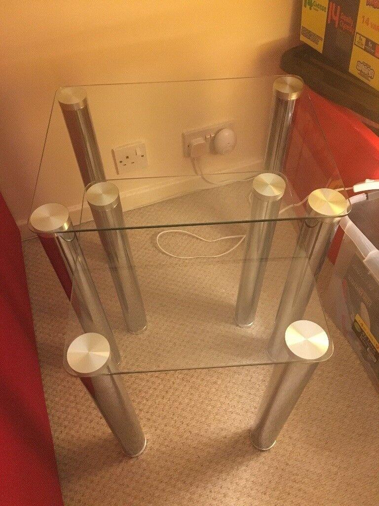 Chrome Glass Livingroom Furniture Tv Unit Shelving Unit Nest  # Meuble Tv Nesx