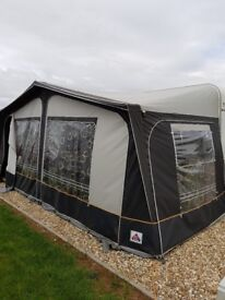 Dorema awning for sale size is 925cm and is a year old.