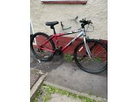 "Adult 26"" wheel 21 speed 17"" aluminium frame bike"