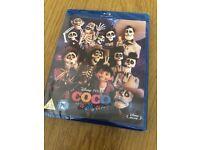Coco Pixar Blu Ray New Sealed