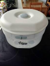 Microwave baby bottle steriliser