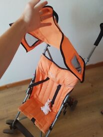 Strong stroller good condtion. With sun canopy