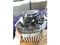 Beautiful designer wedding hat