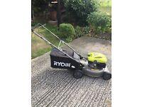 Ryobi petrol drive lawnmower