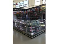 Retail display cabinets for sale