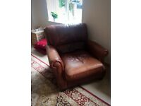 leather sofa, great value