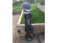 K2 Anagram Snowboard (163cm) and K2 bindings - barely used, excellent condition