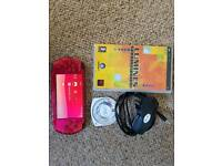 Psp 3000 radiant red console