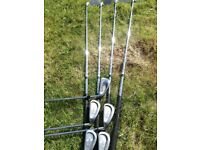 Callaway big bertha steel head irons 3-pw