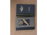 Jules Verne / John Steinbeck 2 Readers Digest Books