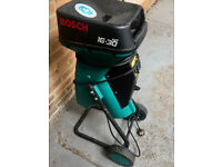 Bosch AXT 16-30 Garden Shredder - Selling many garden items