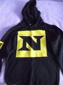 """WWE Official Nexus """"You're Either Nexus or You're Against Us"""" Hoodie Hooded Sweatshirt Small UNWORN"""