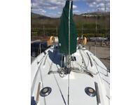 Sailing yacht Moody 31 mkII