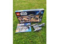 Lego Star Wars General Grievous Starfighter Kit 8095 Complete