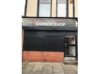 Busy barbers for rent £170 A week this includes gas electric and water rates