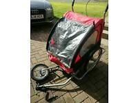 Double bike buggy / trailer