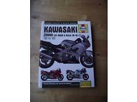 Haynes Kawasaki service and repair manual