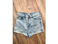 RIVER ISLAND DENIM SHORTS