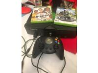 Original Xbox with 2 games