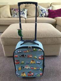 Children's Travel Trolley by Bobble Art - transport design - excellent condition!