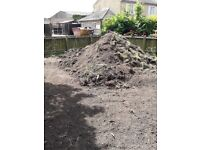 20 tonnes + top soil - free to collect