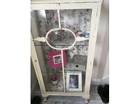 Shabby Chic display cabinet.