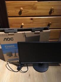 PC Monitor AOC E2460s